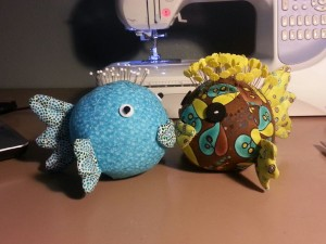 Fun Saturday - July 12, 2014 - Kissy Fish Pin Cushions w/Nanette @ BETA Center | Orlando | Florida | United States